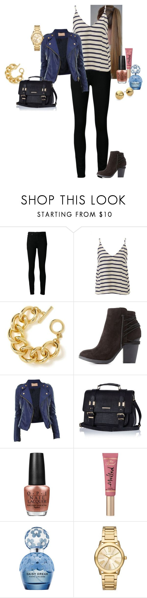 """Alicia-Kathleen ""Kat"" Layden - Never Be The Same (2)"" by katlayden ❤ liked on Polyvore featuring Paige Denim, Astr, Banana Republic, Charlotte Russe, River Island, OPI, Too Faced Cosmetics, Marc Jacobs, Michael Kors and Nest"