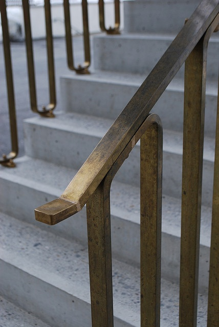 Handrail of Zernez Swisspark Centre    Building by Valerio Olgiati