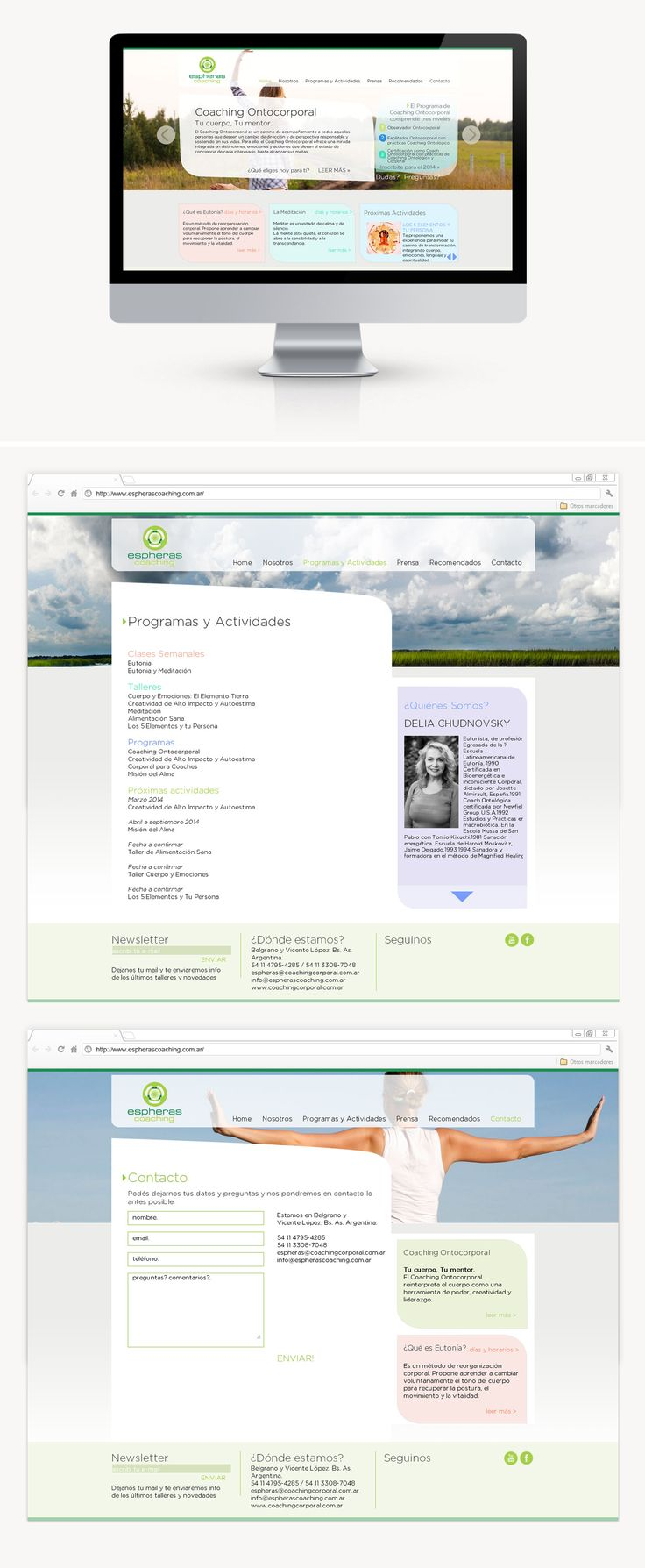 Para Espheras hicimos el diseño web del sitio, cumpliendo con el requerimiento del cliente que necesitaba que toda la web sea auto-administrable de contenidos y de fotos, para eso implementamos un backend muy intuitivo para que ellos mismos puedan editar sus contenidos por completo.