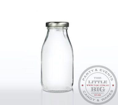 The Little Big Company Mini Glass Soda or Milk Bottle