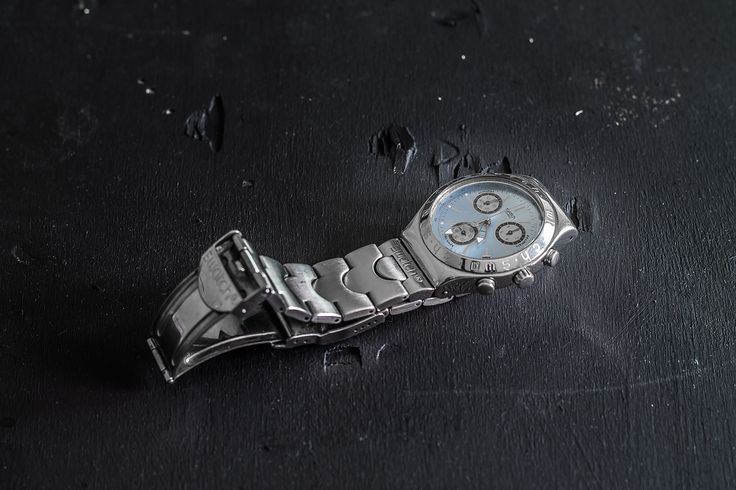 My 8 years old irony Swatch. #watch #swatch