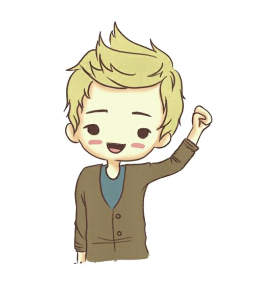 cartoon niall horan