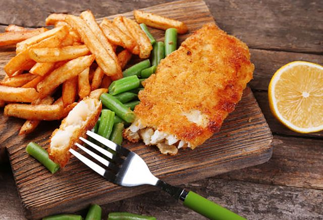 "Make easy and delicious oven ""fried"" fish fillets. This recipe uses just a few simple ingredients to make an awesome fish dinner you will love!"
