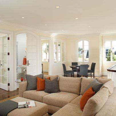 Living rooms with tan couches living room color schemes - Brown couch living room color schemes ...