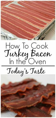 Today's Taste: How to Cook Turkey Bacon in the Oven