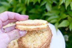 Kokosflarn med smörkräm | Hannas bageri