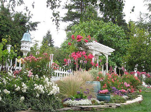 Country Garden Yard Ideas Pinterest