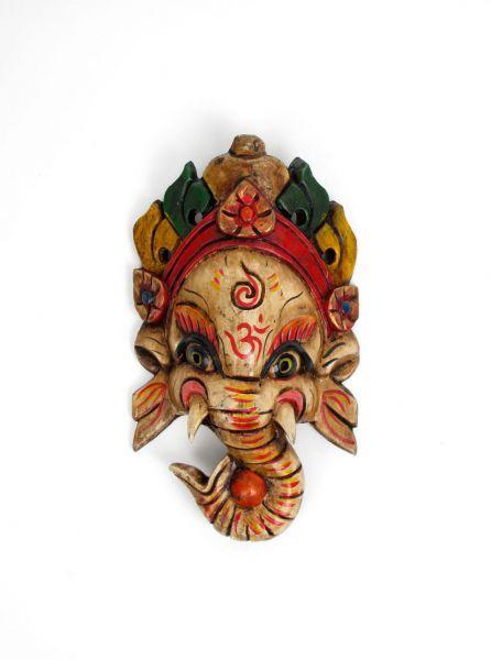 Máscaras de madera realizadas y decoradas a mano por artesanos tibetanos. altura aproximada 25cm. http://www.aleko.kingeshop.com/Mascaras-de-madera-dbaaaaipa.asp