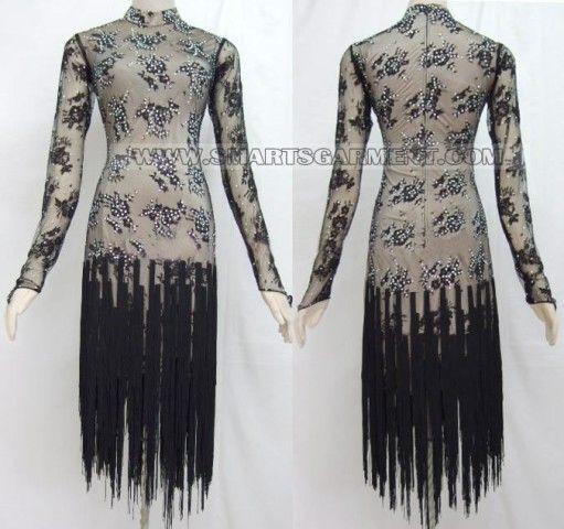 discount latin dancing clothes,plus size latin competition dance dresses:LD-SG11