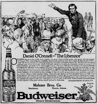 1914 Budweiser Advertisement. #budweiser #beer #history #oldnewspaper