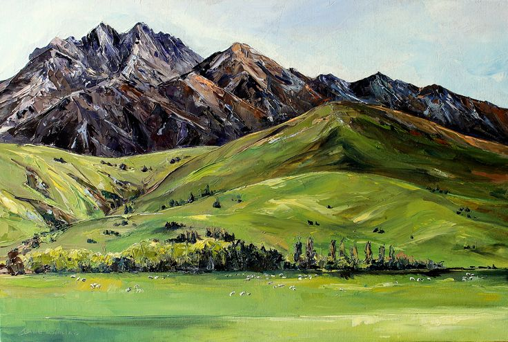 Springtime in the Mt Gold hills | Jane Sinclair Artist