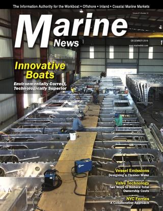 Marine News magazine, December 2016 Issue  You can put aside, just for a moment, your concerns about overcapacity, the price of oil, low freight/day rates and the looming shortage of (qualifi ed) mariners. That's because this edition of MarineNews focuses tightly on emissions and the impact of marine traffic on the global environment – specifi cally, which fuels to use, what propulsion system gets you to the Promised Land, how to navigate the regulations and everything else. I can't think…