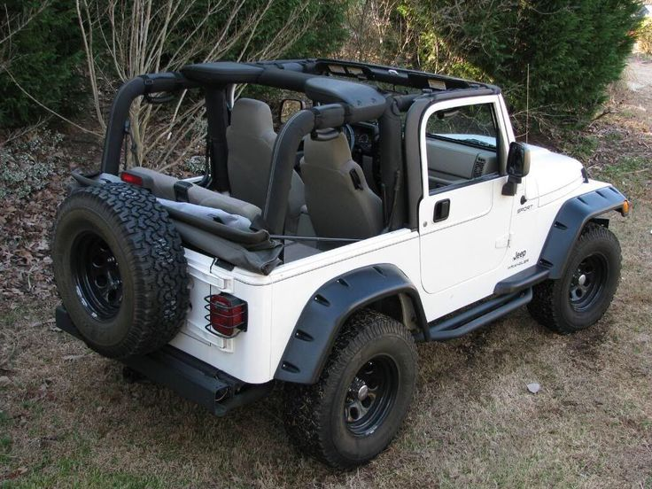 Ideas for my 04 rubicon