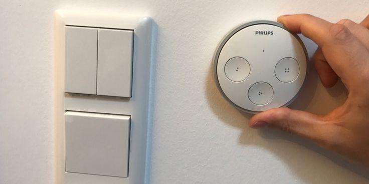 Anleitung: Hue Tap-Technik in Gira-Lichtschalter einbauen