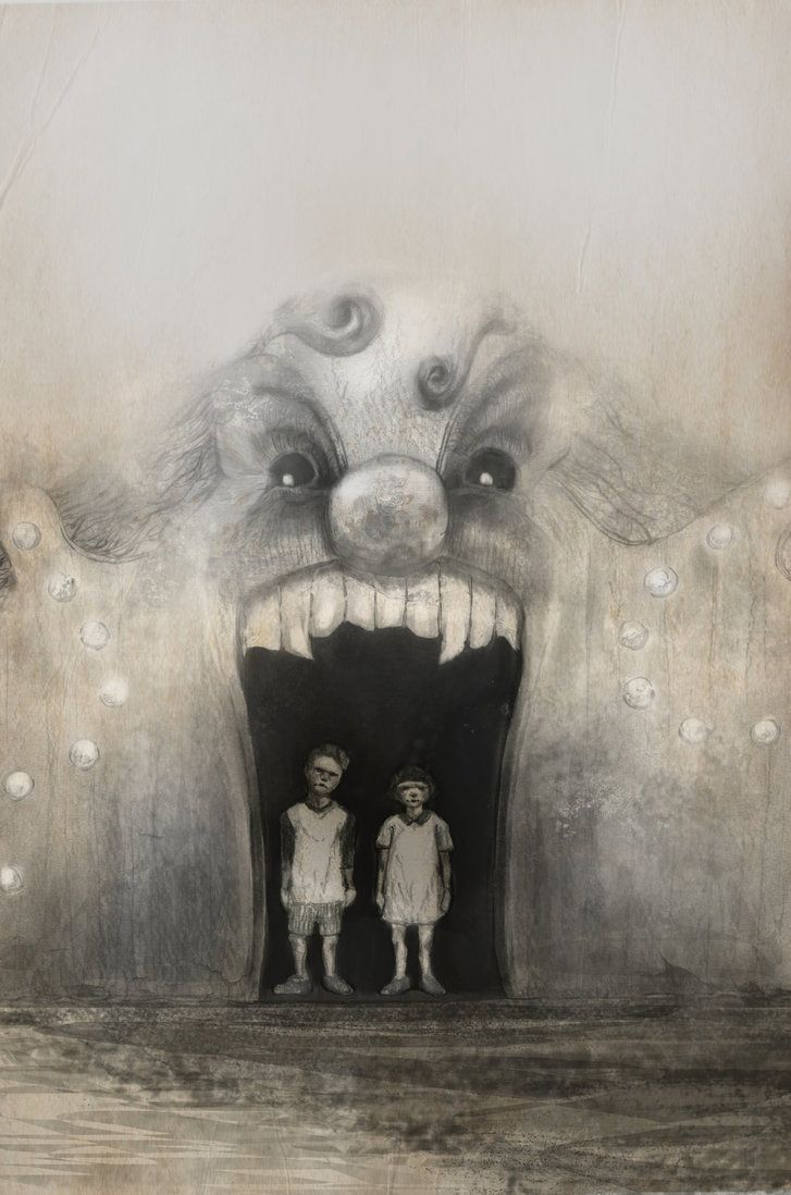 """month of fear - doors"" - artwork by eileen marie tretter - sashura art"