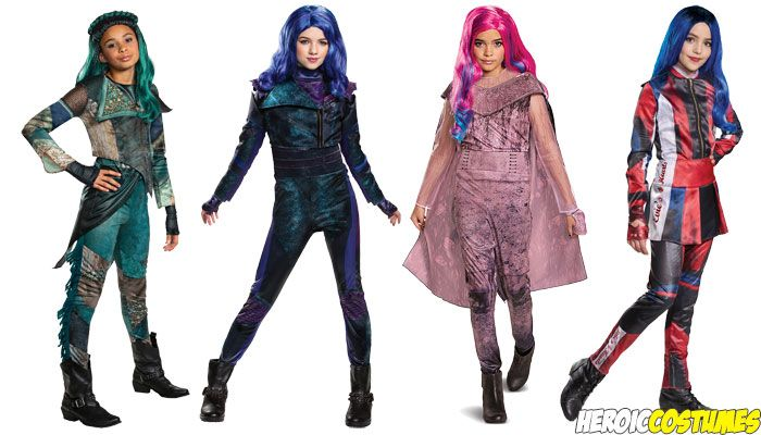 Best Halloween Costume Ideas 2021 Descendants 3 Costumes | Descendants costumes, Cool halloween