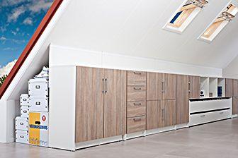 Extra leef- en werkruimte onder schuine kap | Plexat