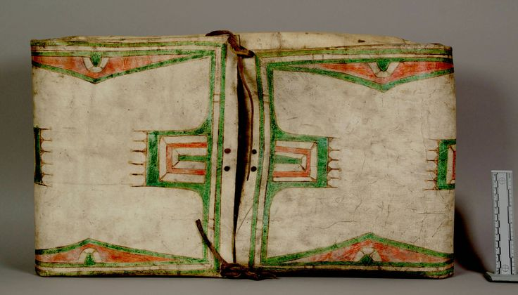 S cheyenne parfleche before 1891 nmnh ac part vii for Cheyenne tribe arts and crafts
