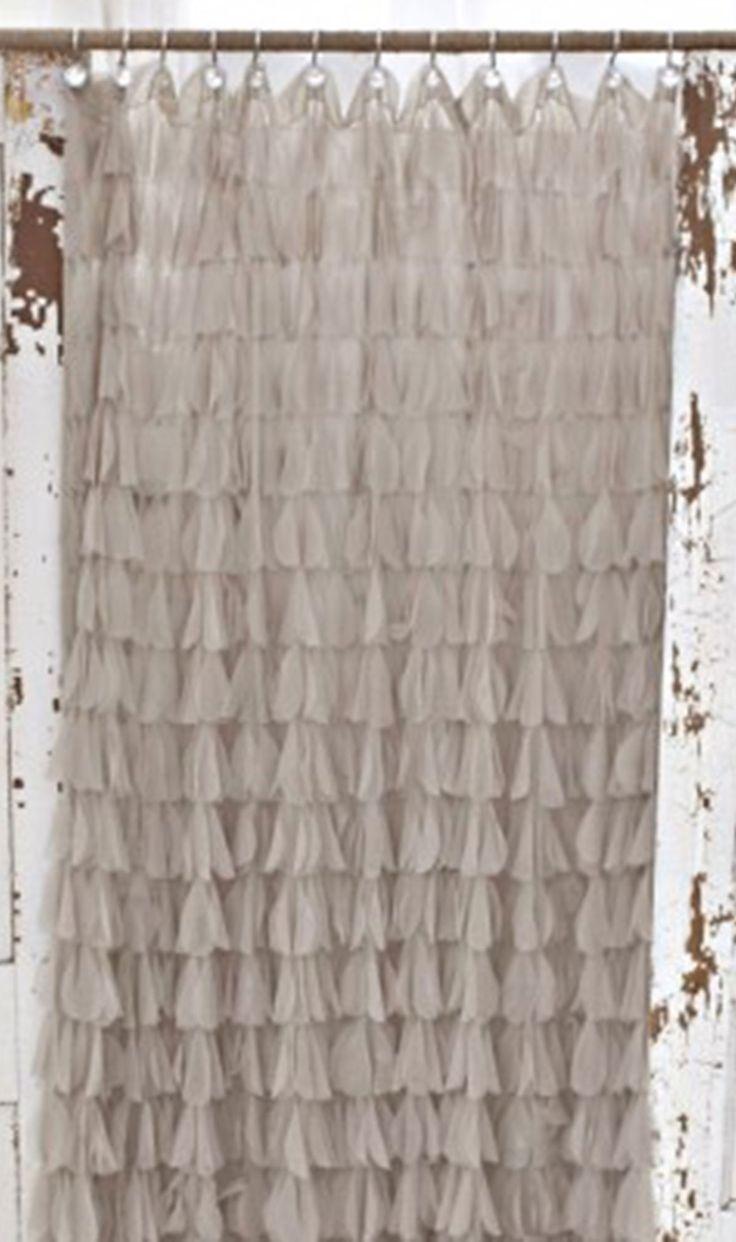 Romantic shower curtain - Chichi Petal Shower Curtain