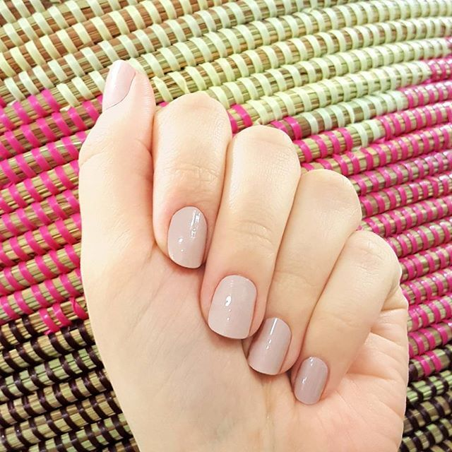 """Neutrals add a simple elegance to your manicure. Classic """"Second Nature"""" is the perfect shade of tan. Get yours at ulta.com! @ultabeauty #ultabeauty #incoco #neutralnails #classicnails #elegantnails"""