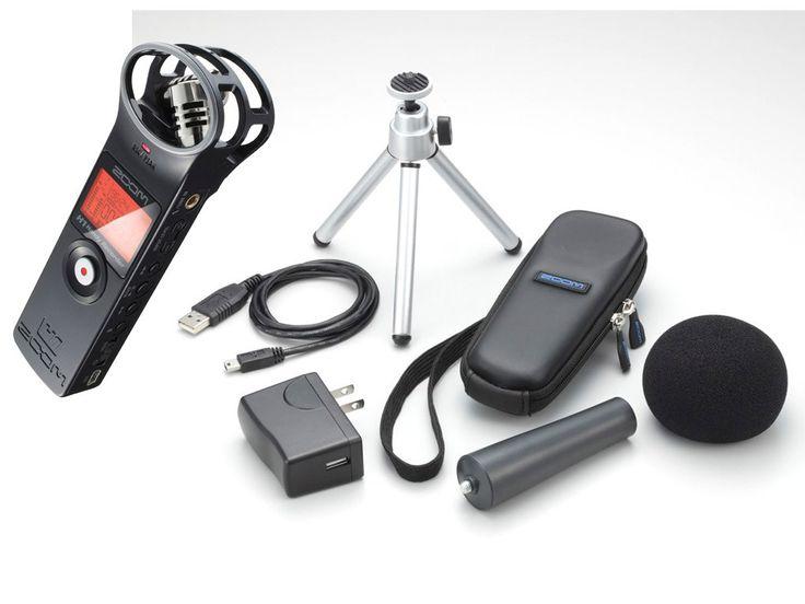 Zoom Handy Recorder H1 matt svart + tilbehørspakke APH-1