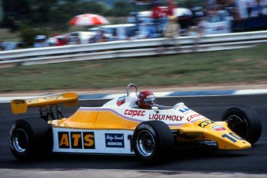1982 GP Niemiec (Eliseo Salazar) ATS D5 - Ford