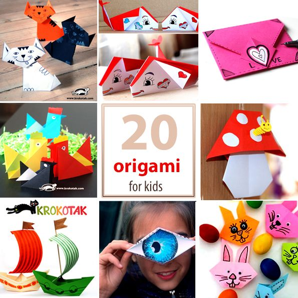 20 origami for kids