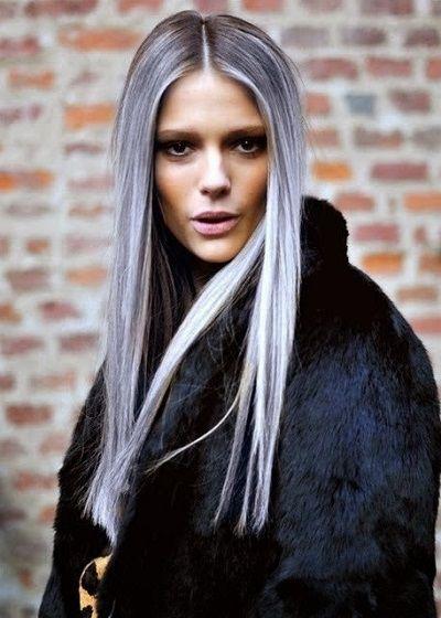 Cuidados de los cabellos blancos - http://www.mujercosmopolita.com/cuidados-de-los-cabellos-blancos.html