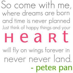 Peter Pan: Disneyquotes, Disney Quotes, Peter O'Toole, Inspiration, Dreams, Peter Pans, Peterpan, Slipstick, Peter Pan Quotes