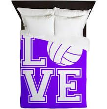 volleyball bedding - Google Search