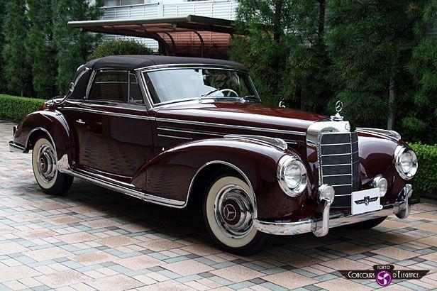 300 s cabriolet c8 1954 mercedes benz 300sc cabriolet a for Garage mercedes 94