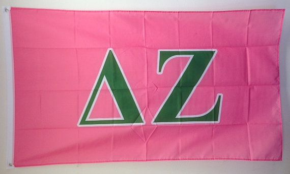 Delta Zeta Letter Sorority Flag 3' x 5' by WindyCityFraternity, $21.99