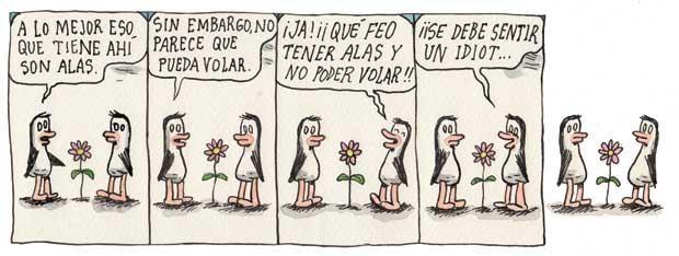 Los pinguinitos (autor: Ricardo Siri Liniers)