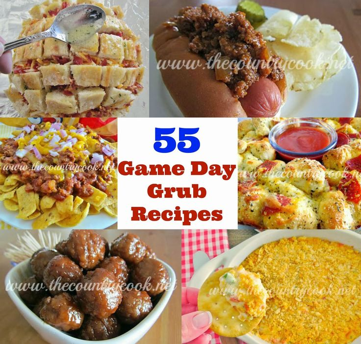 The Country Cook: Game Day Grub {55 Super Bowl Recipes}
