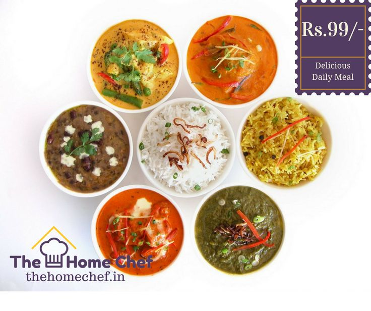 Treat yourself today by having delicious #DailyMeals.Order here www.thehomechef.in #Foodies #IndianFood #FoodLovers #OrderFoodOnline #TheHomeChefIndia