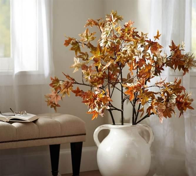 Find This Pin And More On Cheap Home Branches Fall Decor By Knithomedecor.