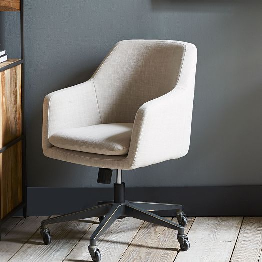 helvetica upholstered office chair west elm 24 w x 22 5. Black Bedroom Furniture Sets. Home Design Ideas