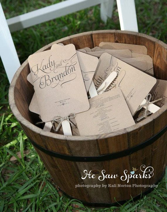 Matching Paddle Fan Program  DIY Printable by HeSawSparks on Etsy, $80.00