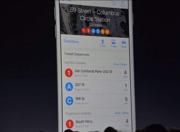 iOS 9 will Give Apple Maps Users the Ability to Receive Public Transit Directions | Apple iPhone Forum