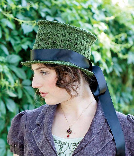 Ravelry: Regency Riding Hat pattern by T.L. Alexandria Volk $
