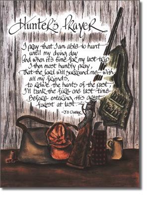 A Hunter's Prayer...Amen