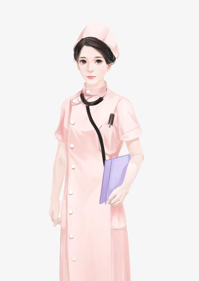 الوردي فتاة ممرضة Girl Clipart Pink Girl Girl