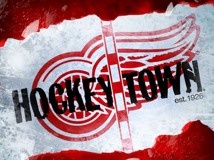 Detroit Red Wing's Hockey