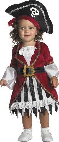 Baby Pirate Princess Costume - Pirate Costumes