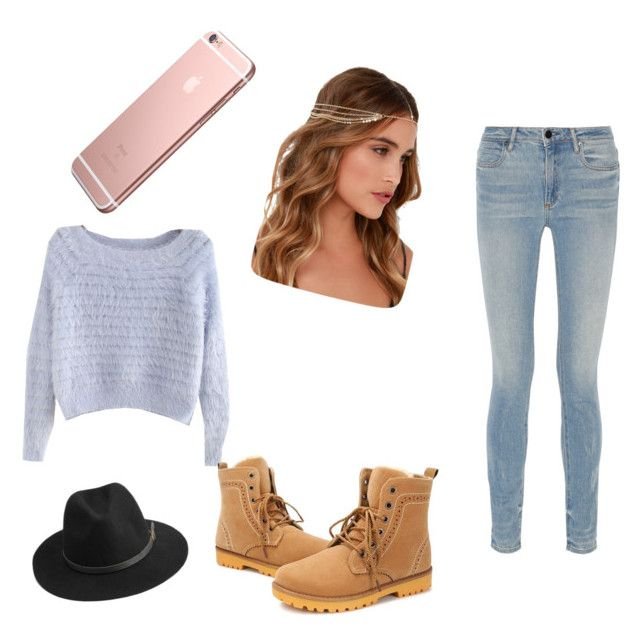 """""""Alivia's casual style"""" by shaye1z ❤ liked on Polyvore featuring moda, Alexander Wang, Lulu*s e BeckSöndergaard"""