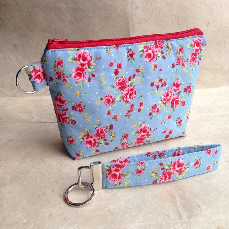 A personal favourite from my Etsy shop https://www.etsy.com/listing/222761386/beautiful-floral-cotton-wristlet-purse