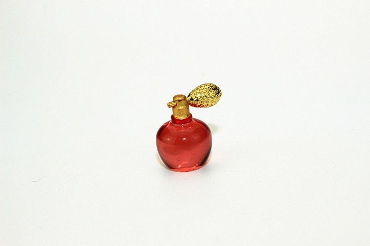 1:12 dollhouse miniature dollhouse accessories a bottle of perfume red #Unbranded