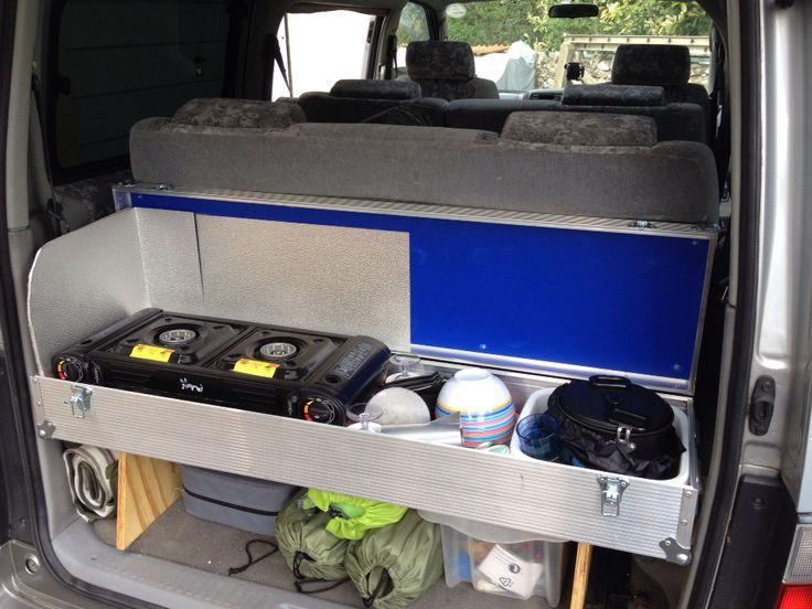 Flight case kitchen for our Bongo