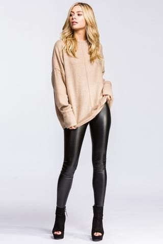 13c602b31c15c Lillian Leopard Print Sweater - Multi | Fashion, Style & Beauty ...