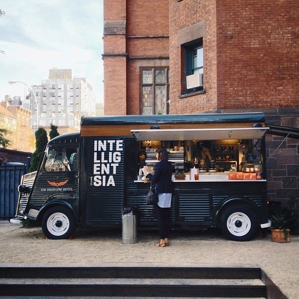 Intelligentsia coffee truck, High Line Hotel, New York